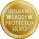 Husband Hero Car Coaster