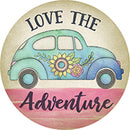 Love Adventure Car Coaster