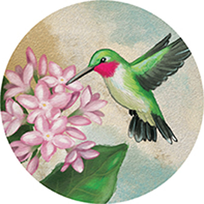 Hummingbird Car Coaster