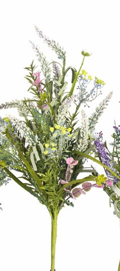 "23"" Mix Heather Silk Bouquet"