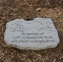 """Beautiful Life"" Stone Plaque"