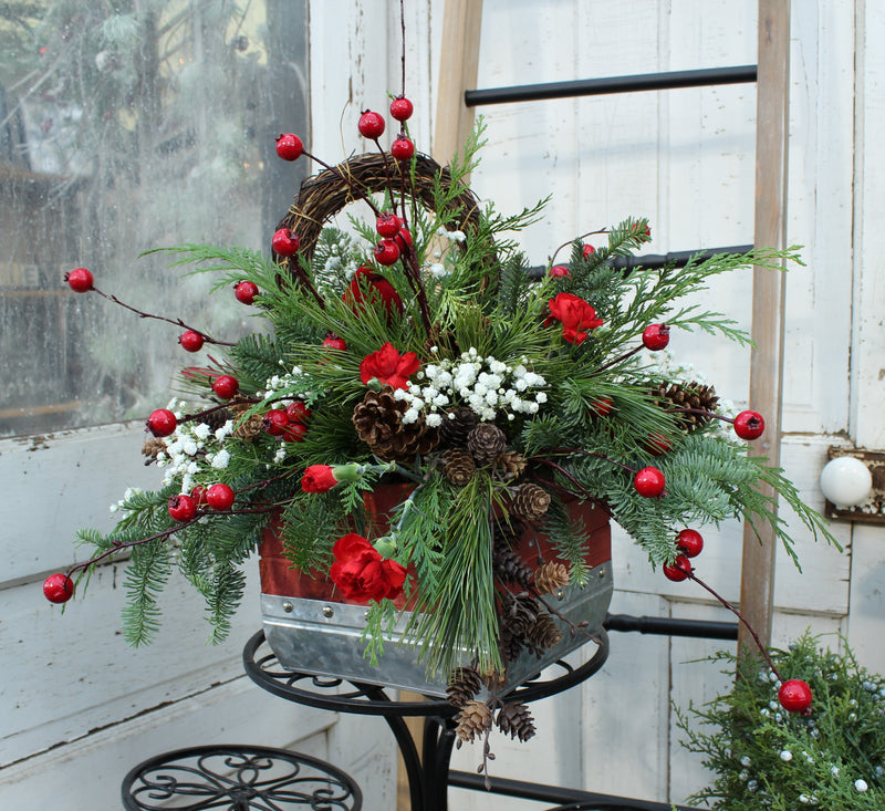 'Hometown Country Christmas' Flower Bouquet