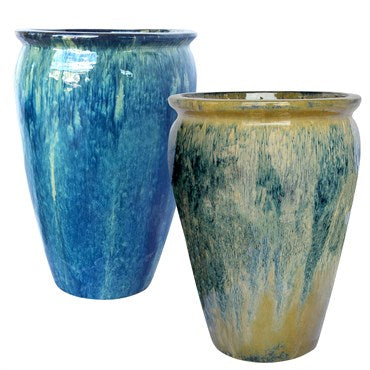 Michael Carr Tall Wide Mouth Jar Planter