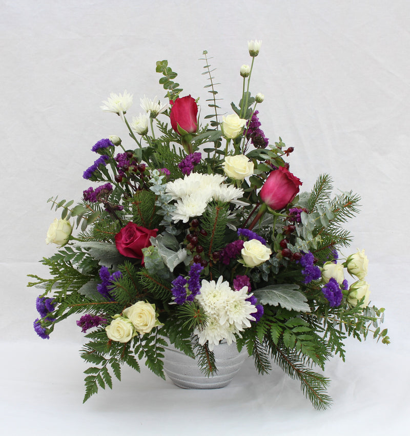 'Royal Christmas' Flower Bouquet
