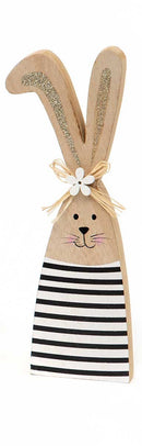 Lop Ear Wooden Bunny Sit-A-Bout