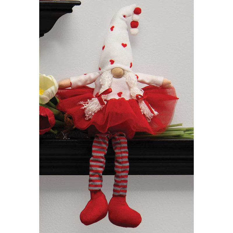Cute Valentine Gnome with Tutu