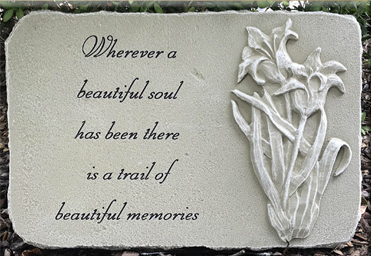 """Beautiful Soul"" Stone Plaque"