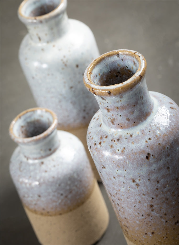 Dual Finished Ceramic Vase