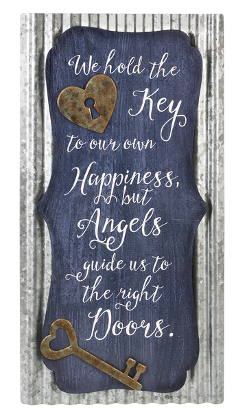 We Hold The Key Inspiration Wall Plaque