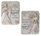Memorial Pebble Angel Plaques