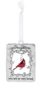 """Daughter"" Always in My Heart Cardinal Ornament"