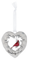 """Thinking"" Always in My Heart Cardinal Ornament"