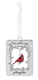 """ Prayers"" Always in My Heart Cardinal Ornament"