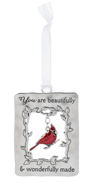 """You"" Always in My Heart Cardinal Ornament"