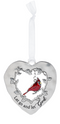 """God"" Always in My Heart Cardinal Ornament"