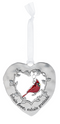 """Love"" Always in My Heart Cardinal Ornament"
