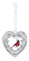 """Cardinal"" Always in My Heart Cardinal Ornament"