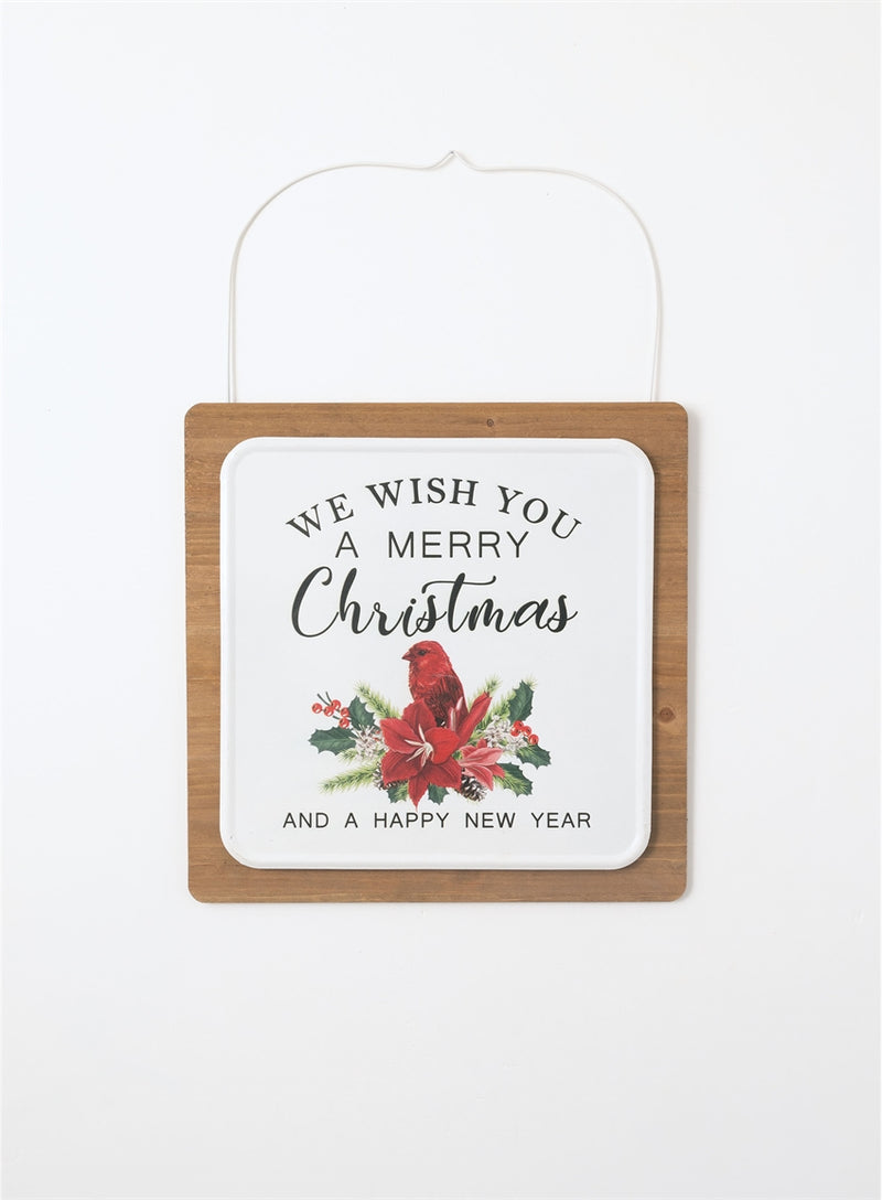 Wish You Merry Christmas Wall Art