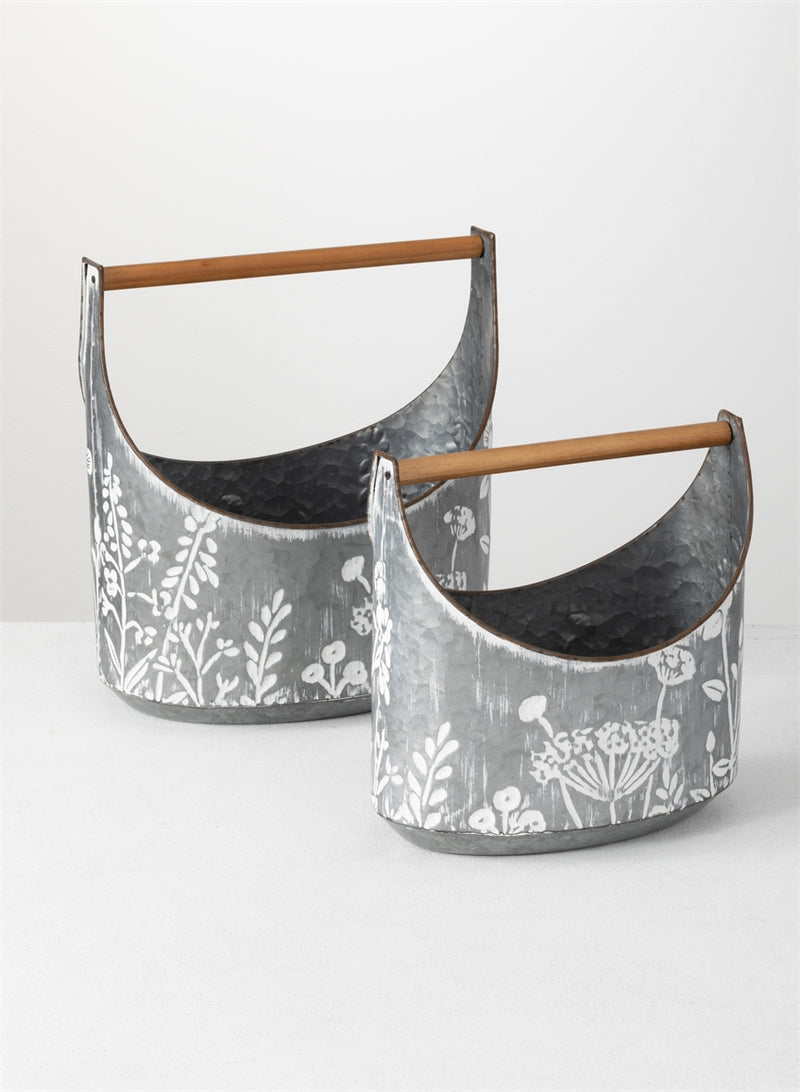 Flower Trug with Handles