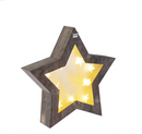 LED Light Up Woodland Star