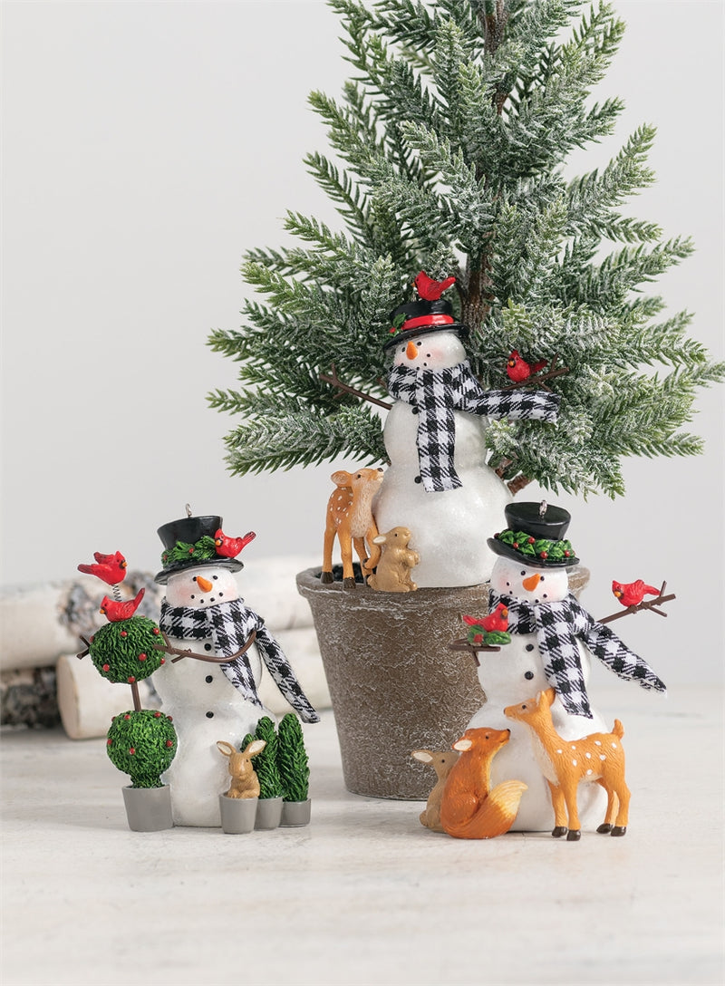 Snowmen with Friends Ornaments Assorted