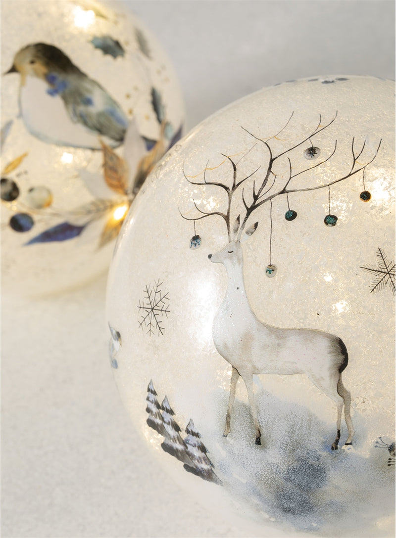 Bird Deer Tabletop Light Globe