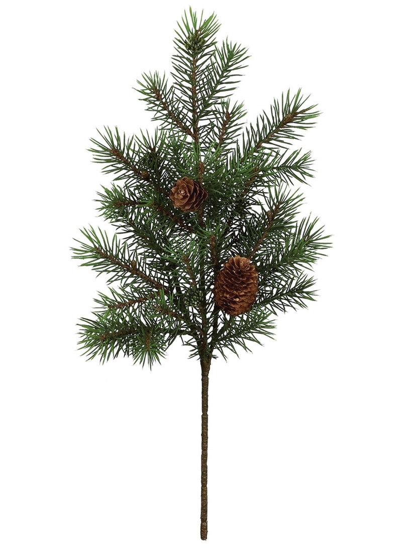 Angel Pine with Cones Pick