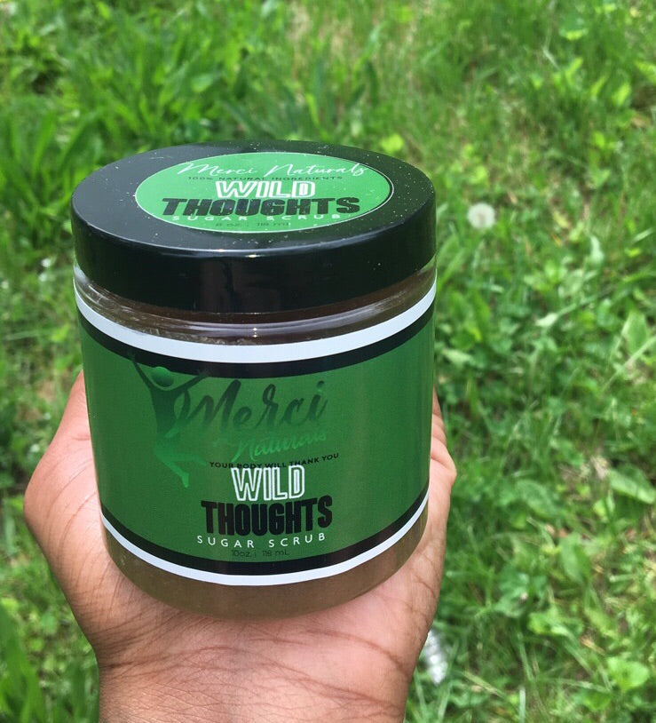 Wild thoughts sugar scrub