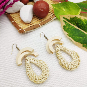 Wholesale Rattan Earrings