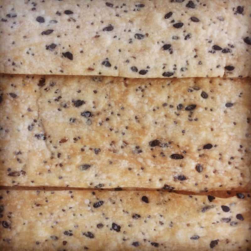 Caraway, Poppy and Black Sesame Flatbread