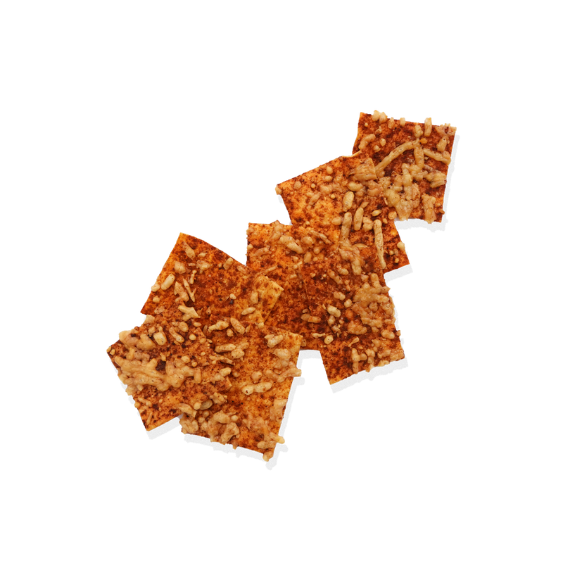 Smoked Paprika, Chilli Salt and Parmesan Cracker
