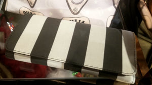 Porcelain Butterfly Beetlejuice Wallet Clutch