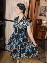 Load image into Gallery viewer, Savannah Hoffman Hell Bunny Starry night dress