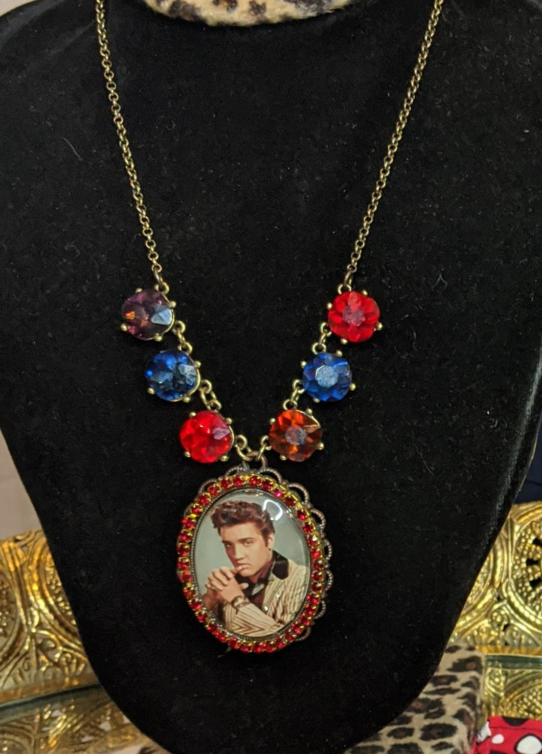Savannah Hoffman Elvis Necklace