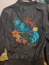 Load image into Gallery viewer, Savannah Hoffman Aloha Bomber Jacket