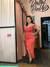 Load image into Gallery viewer, Ains and Elke Stylehaus Salmon Salsa dress