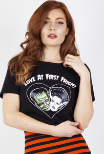 Savannah Hoffman Love at first fright shirt