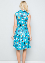 Load image into Gallery viewer, Savannah Hoffman Feline Fun Dress