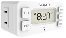 Load image into Gallery viewer, STANLEY Daily Digital Timer 2-Pack, Case of 12