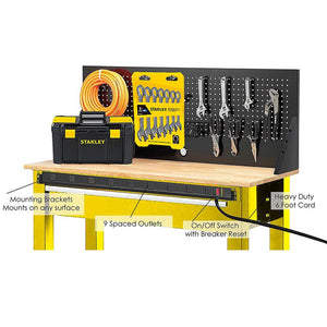 STANLEY SURGEMAX PRO 9 - Stanley Electrical Accessories
