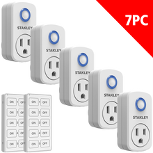 Load image into Gallery viewer, STANLEY® Wireless Remote System 5+2 Pack - Stanley Electrical Accessories