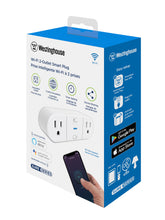 Load image into Gallery viewer, Westinghouse Wi-Fi Smart Plug, Case of 3