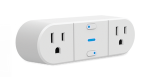 Westinghouse 2-Outlet Wi-Fi Smart Plug, Case of 3