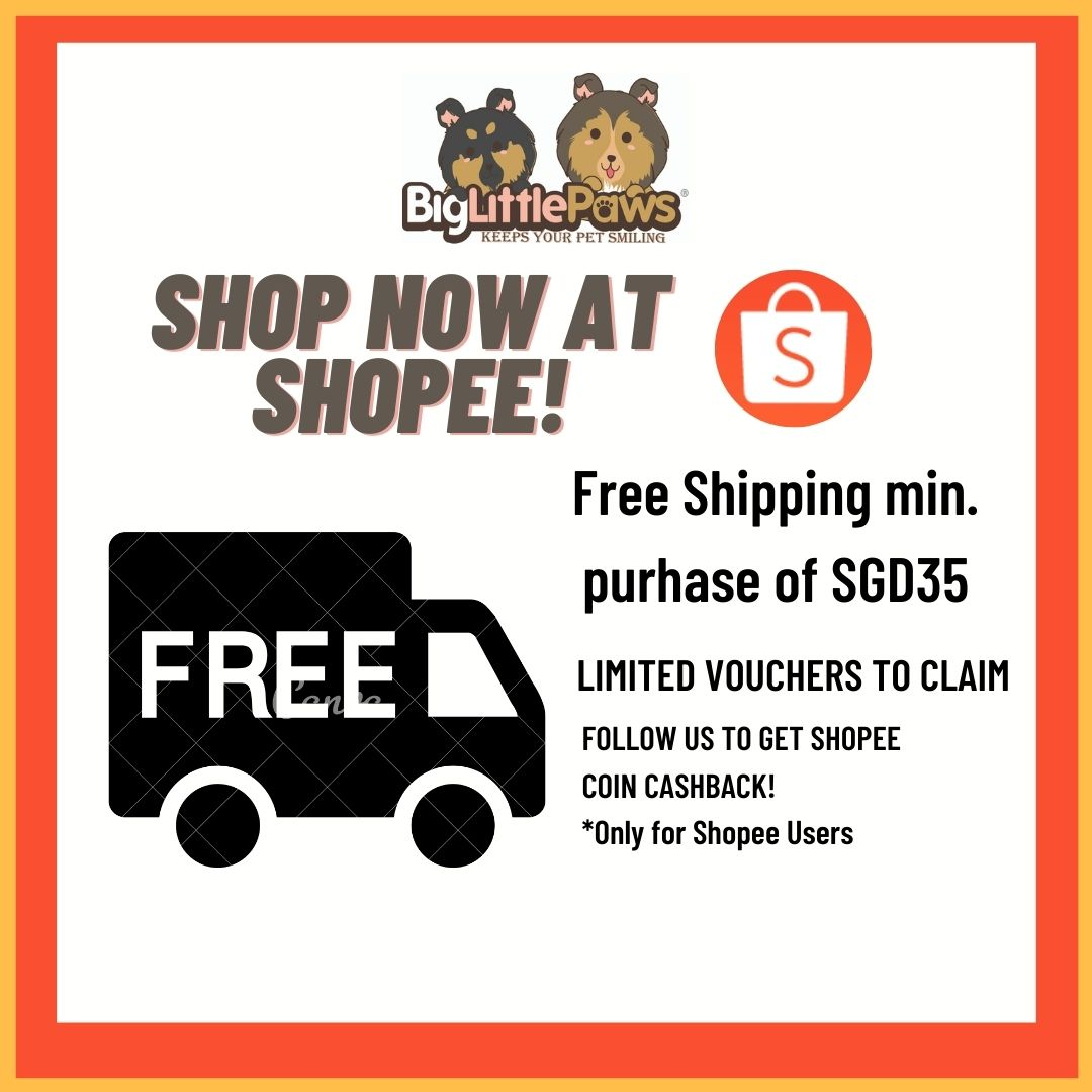 Shop now at Shopee, Free Ship Min. SGD35