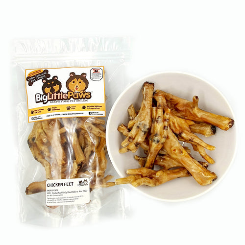 Chicken Feet Dog Treats