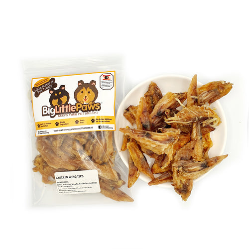 Chicken Wing Tip Dog Treats