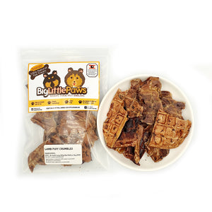 Lamb Puff Crumbles Dog Treats