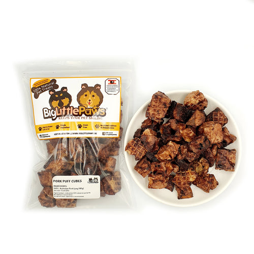 Pork Puff Dog Treats