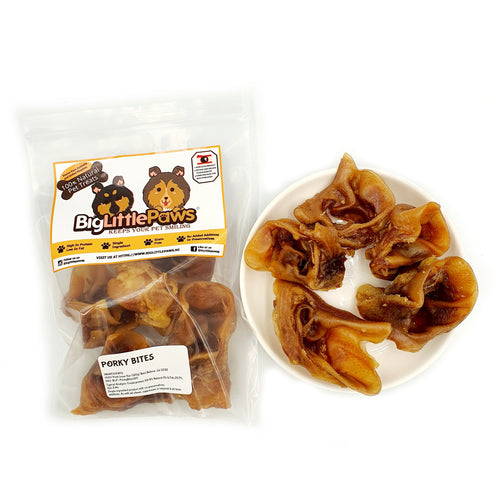 Pig Inner Ear Crunch Dog Treats