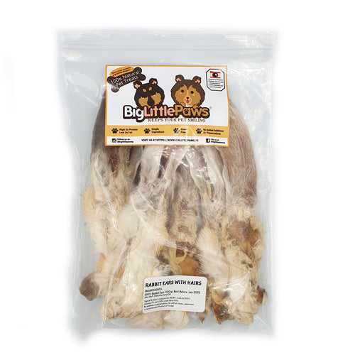 Rabbit Ear Dog Treats
